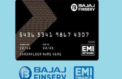 Bajaj emi card online apply