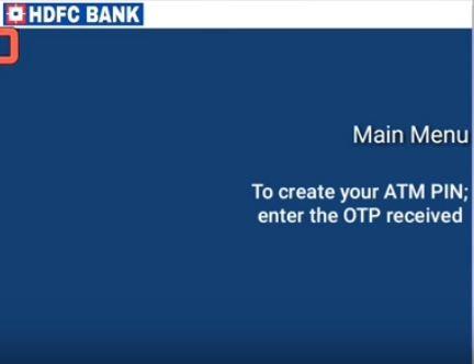 ATM PIN SET