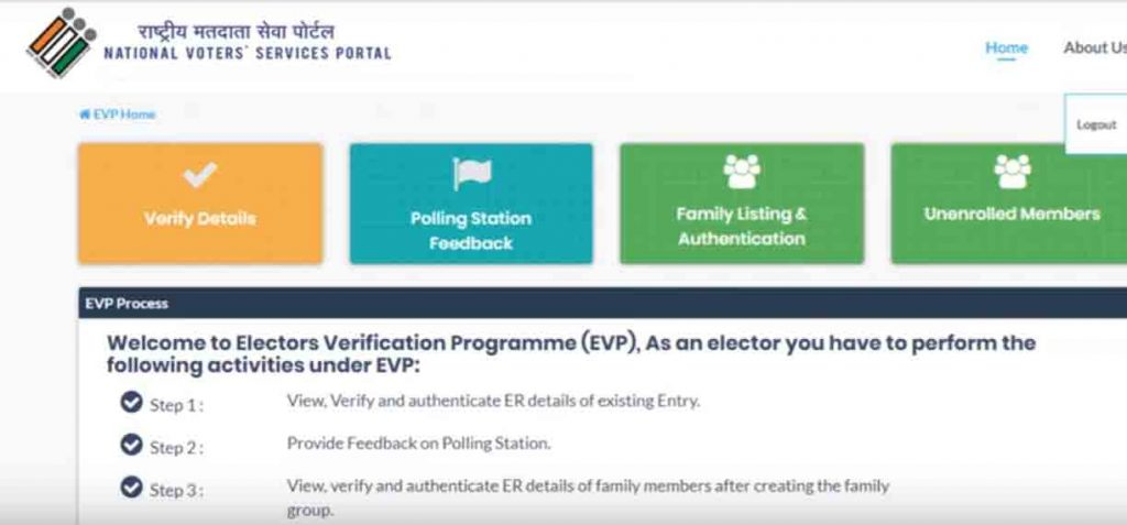 Voter Card Verification