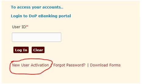 post offine net banking